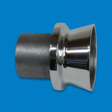 Exhaust Tip-Alum 3 1/2""