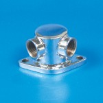 Water Outlet-SS Chevy 3/4""