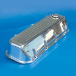 VALVE COVERS BB CHEVY ANGLED BALL MILL POLISHED FINISH