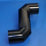 "EXHAUST ""S"" BENDS STAINLESS STEEL STANDARD ""S""-11"" DROP"
