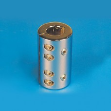 "PROP SHAFT COUPLER 1"" CAD PLATED"