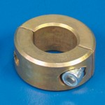"SAFETY COLLAR 1-1/8"" CAD PLATED"