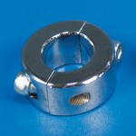 "SAFETY COLLAR 1"" CHROME PLATED"