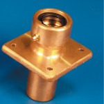 "RUDDER STUFF BOX-SINGLE SEAL 1-1/8"" BRASS"