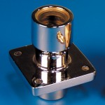 "RUDDER STUFFING BOX- 1"" DOUBLE SEAL CHROME"