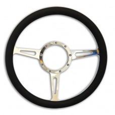 STEERING WHEEL CLASSIC BILLET ALUMINUM-POLISHED SPOKES