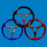 SYMMETRICAL STEERING WHEEL-COLOR