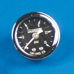 LIQUID FILLED FUEL PRESSURE GAUGE