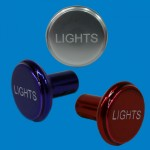 PUSH/PULL SWITCH KNOB LIGHTS
