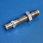 "BULKHEAD FITTING -10AN BULKHEAD 4"" LONG"