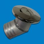 """FLIP TAB STAINLESS STEEL GAS FILL VENTED 2"""" WITH AN ANGLED BASE"""