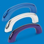 Grab Handles Smooth Billet Aluminum- 6""