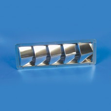 STAINLESS STEEL LOUVER 5 SLOT LOUVER
