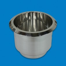 "Cup Holder Billet Aluminum- Large(3-3/4"")"