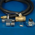 STANDARD ENGINE FLUSHING KIT WITH BRASS VALVE