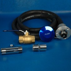 DELUXE ENGINE FLUSHING KIT WITH BRASS VALVE