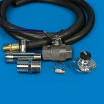 STANDARD ENGINE FLUSHING KIT WITH STAINLESS STEEL VALVE