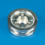 BILLET ENIGINE PULLEY- CRANK PULLEY TRIPLE GROOVE