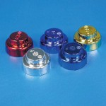 Turbosonic Trim Pump Cap- Bright Colors