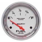 "FUEL LEVEL 2-5/8"" PLATINUM"