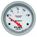 "FUEL LEVEL 2-5/8"" SILVER"