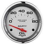 "OIL PRESSURE 80 PSI 2-5/8"" PLATINUM"
