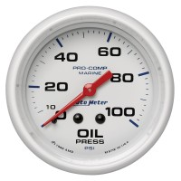 "Auto Meter White 2"" Gauges"