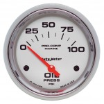 "OIL PRESSURE 100 PSI 2-5/8"" PLATINUM"