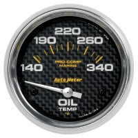 "Auto Meter Carbon Fiber 2"" Gauges"