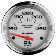 "OIL TEMP 2-5/8"" PLATINUM"