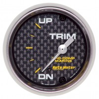 "Auto Meter Carbon Fiber 2-5/8"" Gauges"
