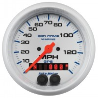 Auto Meter White GPS Speedometers