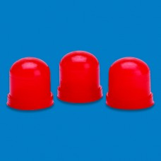 GAUGE BULB BOOT RED