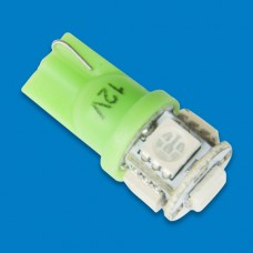 LED BULB REPLACEMENT WEDGE GREEN