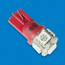 LED BULB REPLACEMENT WEDGE RED