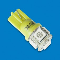 LED BULB REPLACEMENT WEDGE YELLOW