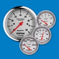 Auto Meter Gauges-Platinum