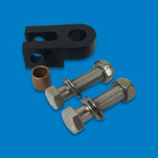 STEERING SWIVEL KIT ALUM