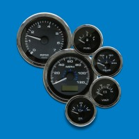 Elite Single Engine Gauge Kits