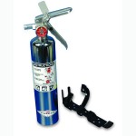 CHROME FIRE EXTINGUISHER 2 1/2 LB DRY CHEMICAL