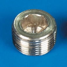 "PIPE PLUG STAINLESS STEEL 3/8"" NPT"