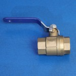"WATER SHUT-OFF BALL VALVE 1/2"" NPT BRASS"