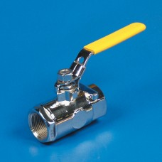 "WATER SHUT-OFF BALL VALVE 1/2"" NPT POLISHED SS"