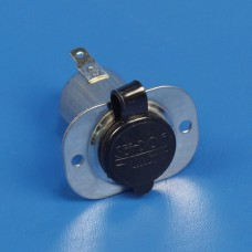 POWER SOCKET 12 VOLT CHROME