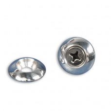 BILLET ALUMINUM PLAIN ACCENT COUNTERSUNK WASHERS # 10