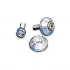 "BILLET ALUMINUM PLAIN SOCKET CAP WASHERS 3/8"" X 1-1/8""  MACHINE FINISH"