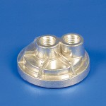 FORD CAST REMOTE OIL FILTER ADAPTERS FORD SPIN-ON BYPASS