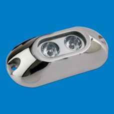 UNDERWATER LIGHT SS OBLONG 2 LEDS