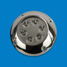 UNDERWATER LIGHT SS ROUND 6 LEDS