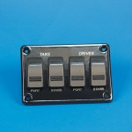 SWITCH PANEL- FOUR CARLING SWITCHES